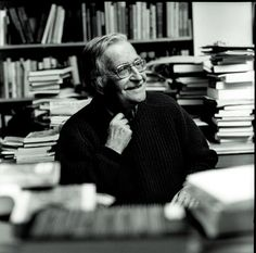 "Noam Chomsky: ""All over the place, from the popular culture to the propaganda system, there is constant pressure to make people feel that they are helpless, that the only role they can have is to ratify decisions and to consume. Noam Chomsky, Henry Miller, Writers Write, Popular Culture, Good People, Things To Think About, Books To Read, Literature, This Or That Questions"