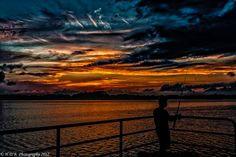"500px / Photo ""Sunset Fishing"" by Harold Begun"