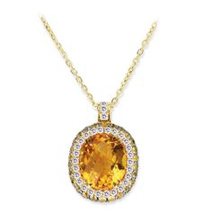 VannaK.com  Diamonds: 18K P(D.37CT/29ST-YS.52CT/26ST)CT4.63CT  Assert yourself with a gleaming pendant that demands to be seen!