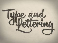 Type and Lettering by Ken Barber