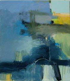 Bob Hunt - Vague Destination #1 - MEDIUM: Original Acrylic on Canvas SIZE: 42 x 36