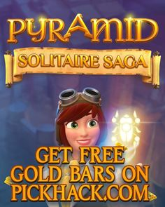 LETS GO TO PYRAMID SOLITAIRE SAGA GENERATOR SITE! [NEW] PYRAMID SOLITAIRE SAGA HACK ONLINE Add up to 9999 amount of Gold Bars for Free This method real working 100% guaranteed Please share this online hack guys HOW TO USE: 1. Go to www.pyramidsolitairesaga.pickhack.com 2. Enter your Username/ID or Email (you dont need to enter your password) then click CONNECT 3. Enter the amount of Gold Bars then click GENERATE Popup Agreement click CONTINUE 4. Click VERIFY finish verification process and…