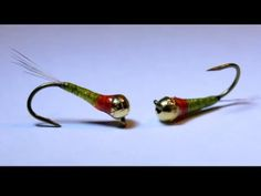 Perdigon Red Green tyed by Enrico Belloni Fly Fishing Nymphs, Buzzers, Fish Food, Fly Tying, Red Green, Bead, Patterns, Videos, Youtube