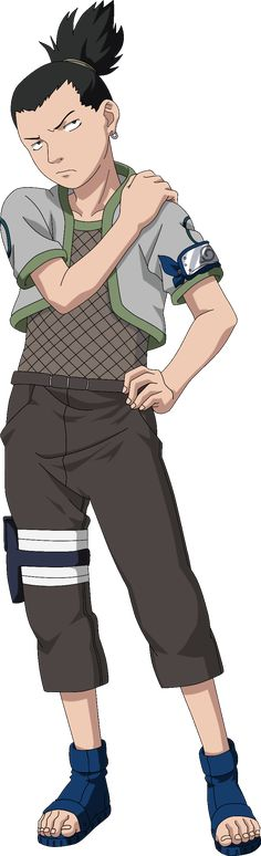 Shikamaru Nara (奈良シカマル, Nara Shikamaru) is a shinobi of Konohagakure's Nara clan. Shikamaru has a rare intellect that consistently allows him to prevail in combat, though he was lazy by nature. The responsibilities that these successes leave him with caused him frequent annoyance at first due to his laziness, but he gladly accepts them so that he may be of service to his fellow members of Team 10, and to prove himself to generations of the past, present, and future. Shikamaru is the only...