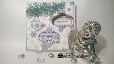 Merethes Kreative Boble: Stamped Punched window with a hidden object House Of Cards, Christmas Cards, Stamp, Handmade Cards, How To Make, Challenge, Scrapbooking, Window, Inspire