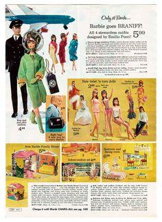 EXCELLENT CONDITION VINTAGE BARBIE 1964 DOG /'N DUDS #1613 EARMUFFS-