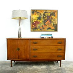 Mid Century Bassett Credenza, $1,248, now featured on Fab.