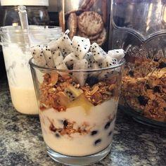 Almond Milk Yogurt Instant Pot - this one involves quite a bit of work Almond Milk Yogurt, Almond Milk Recipes, Vegan Yogurt, Yogurt Recipes, Vegan Recipes, Free Recipes, Instant Pot Pressure Cooker, Pressure Cooker Recipes, Pressure Cooking
