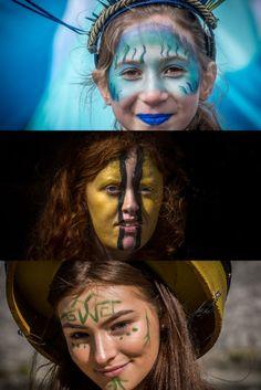 St Patrick's Day in Dublin, St. St Patricks Day, Dublin, Highlights, Saints, Colours, Face, Hair Highlights, Faces, Highlight