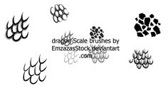 scales brushes by dark-dragon-stock.deviantart.com on @DeviantArt Skin Brushing, Photoshop Brushes, Brush Set, Dragon, Deviantart, Dark, Face Brush Set, Dragons