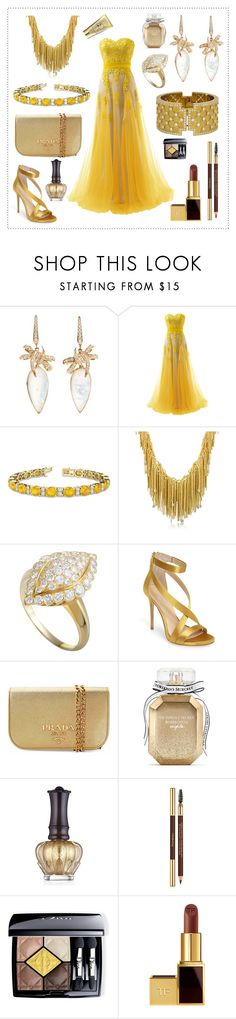 """""""Margrit didn't win Prom Queen"""" by divinatas ❤ liked on Polyvore featuring Stephen Webster, Reception, Allurez, Orlando Orlandini, Van Cleef & Arpels, Imagine by Vince Camuto, Prada, Victoria's Secret, Anna Sui and Yves Saint Laurent"""