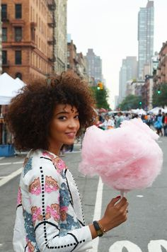 #mercredie #blog #blogger #fashion #mode #blogueuse #afro #hair #natural #curly #curls #nappy #4c #mixed #girl #outfit #inspiration #sequins #asos #jacket #cottoncandy #cotton #candy #nyc #newyork #new #york #ootd