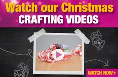 Watch Our Christmas Crafting Videos Christmas Crafts, Christmas Decorations, Present Gift, Christmas Shopping, Crafting, Presents, Watch, Videos, Fun