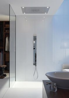 Starck Shower Collection By Axor modern-bathroom