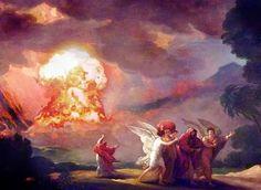 Abraham ber for det syndefulle Sodoma, men må forlate med familien