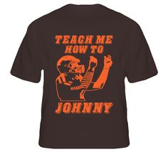 Youth Cleveland Browns Johnny Manziel Nike Brown Game Jersey