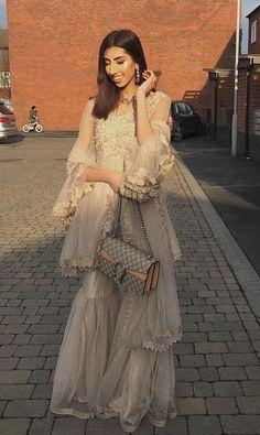 Pinterest • @KrutiChevli #indianfashion #pakistanifashion #weddings #weddingideas #lehenga #kundan #kurti #suits #chaniyacholi #dresses #saree Asian Wedding Dress, Pakistani Formal Dresses, Pakistani Wedding Outfits, Pakistani Bridal Wear, Pakistani Wedding Dresses, Eid Dresses, Bridal Lehenga, Patiala Salwar, Anarkali Suits