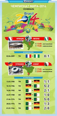 Алжир оштрафован перед игрой с Германией. ЧМ-2014. День восемнадцатый...