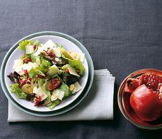 Granatapfelsalat mit Parmesan Rezept - ESSEN & TRINKEN
