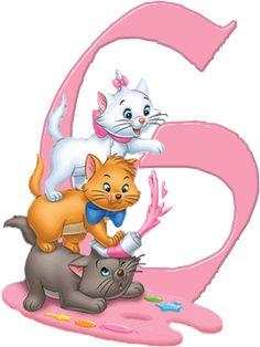 G Aristocats Alphabet (Oh My Alfabetos!)