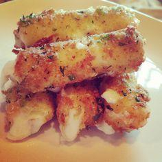 Serrano pepper cheese sticks