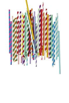Paper Straws Poppies For Grace, Food Trays, Paper Straws, Color Blocking, Tableware, Outdoor Decor, Home Decor, Food Platters, Dinnerware
