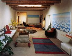 http://labrancaro.tumblr.com/post/13462422628/the-living-room-of-okeeffes-abiquiu-home