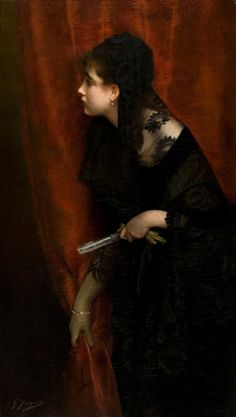 Opera Girlby Gustave Jean Jacquet