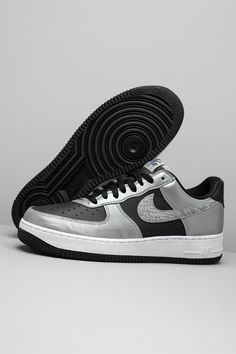 """Nike's Co.Jp initiative was truly ahead of its time. Back when the """"Silver Snake"""" Air Force 1 Low originally released, shoes with hi-vis reflective detailing weren't as common as they are today, which makes this modern re-release all the more special."""
