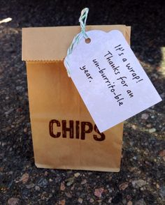 Chipotle gift card for teachers and staff