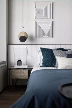 Master Bedroom Interior, Farmhouse Master Bedroom, Bed Wall, Loft, Apartment Design, Modern Interior Design, Cheap Home Decor, Living Room Designs, Furniture Design