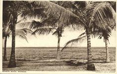 Bamburi Beach Mombasa 1930s..... We went for holidays here in the 1950's.