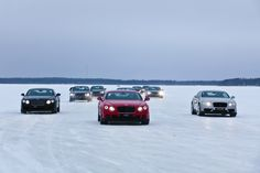 Bentayga SUV at a Winter Driving Program on frozen water will display Bentley's power in 2016 (Video) Bentley and ice are doing pretty good; actually it broke the speed record on ice. Bentley is so excited about its products performance on ice that it actually gives a four day experience for the costumer so they can slide around the British performance car on spontaneous circuits on a frozen...