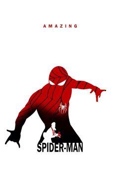 Superhero Silhouette: Spider-Man