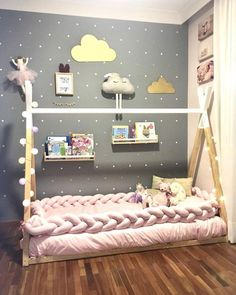 Teen Girl Bedrooms - Excellent and wicked decorating information. For additional examples , check the image today Teen Girl Bedrooms, Big Girl Rooms, Boy Room, Baby Bedroom, Baby Room Decor, Toddler Rooms, Toddler Bed, Cute Teen Rooms, Vintage Girls Rooms