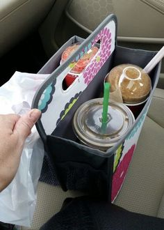 Neat way to eat on the go with Thirty-One.