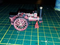 Burrell Devonshire Engine, made from paper, scale 1/87, foto 2.