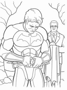 Batman Alfred Coloring Pages