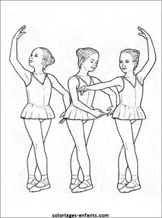 Ballet Class Coloring Pages - All About Pointe