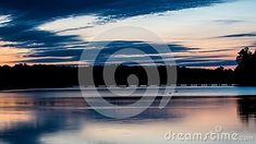 Nearly an hour before sunrise, a look across Island Lake at one of the several walking bridges that connect the islands with the mainland. The location is found in Orangeville, Ontario, Canada. Before Sunrise, Blue Hour, Bridges, Ontario, Islands, Connect, Walking, Canada, Stock Photos