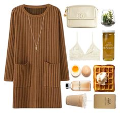 """Winter"" by yvetteong ❤ liked on Polyvore featuring Bee Raw Honey, Chanel, Monki, Threshold, Lab, Bobbi Brown Cosmetics and Minor Obsessions"