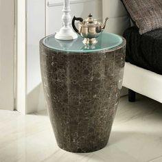 Design Beistelltisch Aus Stein Grau Glas Jetzt Bestellen Unter: ...