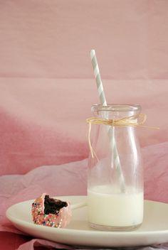 cake pops and milk