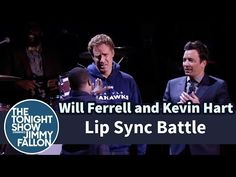 Kevin Hart, Will Ferrell and Jimmy Fallon in EPIC Lip Sync Battle | Rare