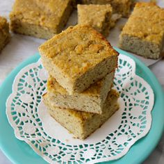 This one is for you, Robyn! And anyone with gluten sensitivities. The 'corn' bread looks delicious AND it is a great gluten-free blog! Corn Bread {with Almond & Coconut Flour}