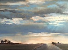 CloudStudy by Alice Hauser Oil ~ 9 x 12
