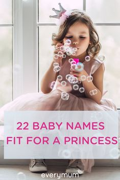 Looking for a baby name for your little princess? From Arwen to Zara and everything inbetween - we have the most gorgeous and regal baby names for your little girl. Celtic Baby Names, Irish Baby Names, New Baby Names, Unisex Baby Names, Popular Baby Names, Cute Baby Names, Twin Girl Names, Vintage Baby Girl Names, Modern Baby Names