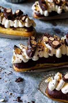 Caramel Crunch Eclairs   Bakers Royale