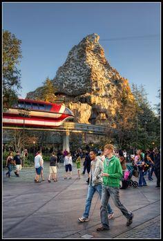 Disneyland. Had gone over 50 times.