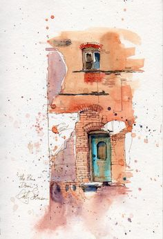 Cathy Johnson  #watercolor #illustration #art art journal sketchbook